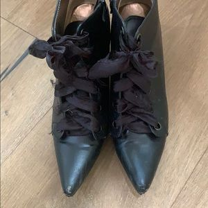 Black shoes costume Halloween witch